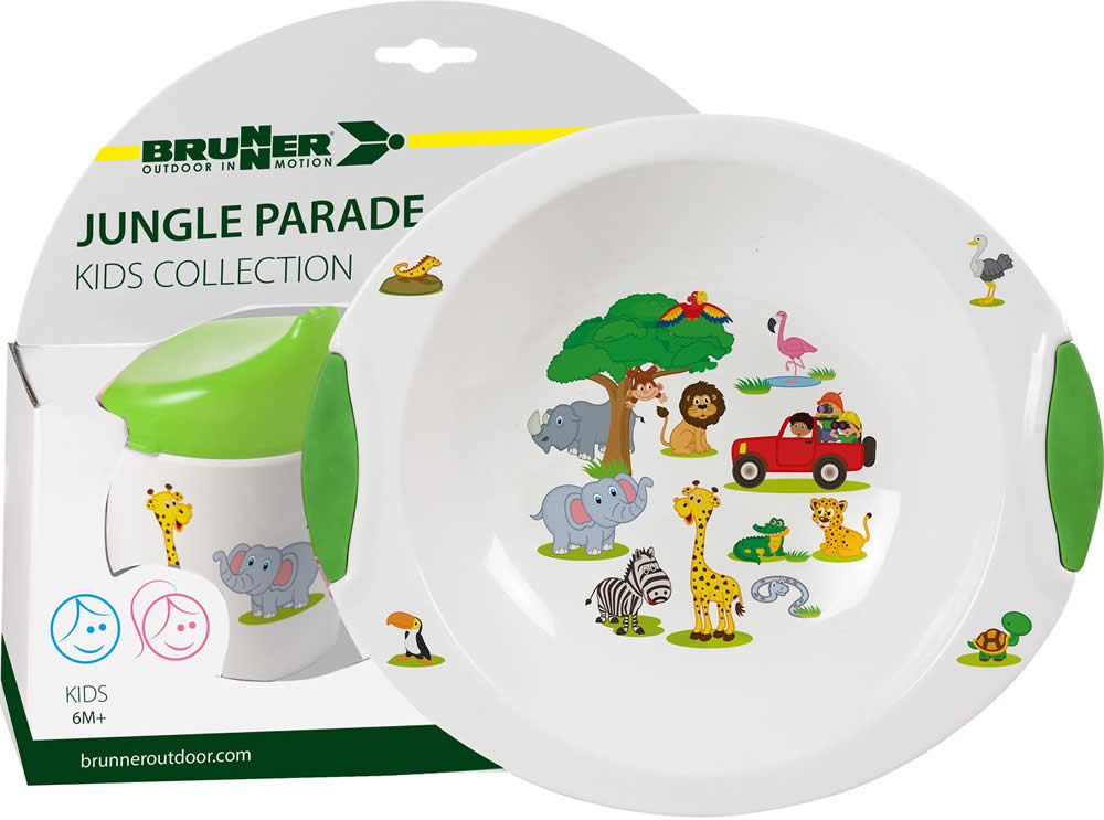 SET BIMBI - Set Jungle Parade 6M+ (3pz)