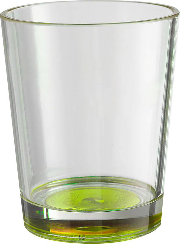 BICCHIERI MULTIGLASS color (2 pz) (verde)
