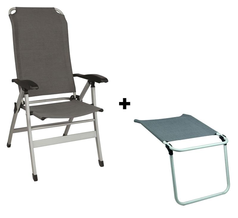 Sedia alta comfort maxi reclinabile poggiagambe grigio for Sedia alta